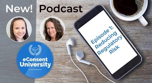 eConsent University Podcast: Episode 1