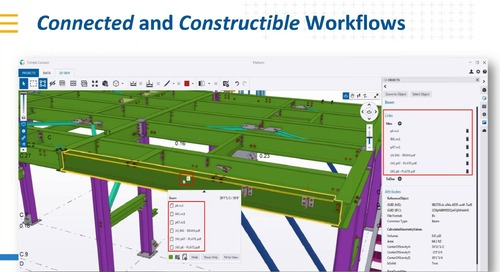 [Tekla BIMeet] Use Trimble Connect. Collaborate on projects in real time with confidence