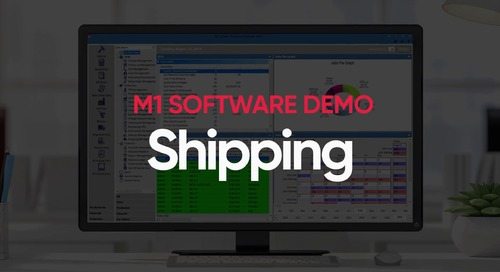 M1 Shipping Management Demo