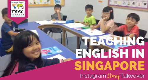 Day in the Life Teaching English in Singapore with Brittany Shultz