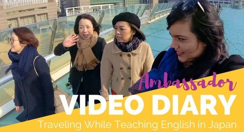 Traveling While Teaching English in Japan