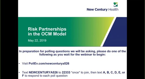 OCM Two-Sided Risk: Understand the Opportunity, Mitigate the Risk