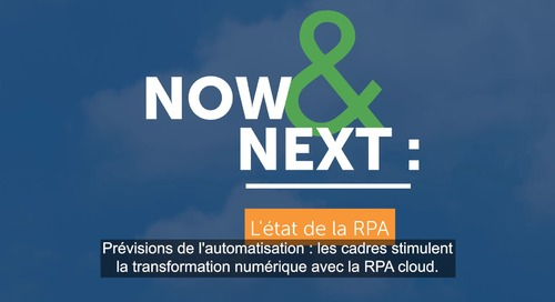 Now & Next 2021_State of RPA report_fr-FR