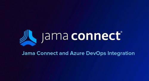 Jama Connect® + Azure DevOps