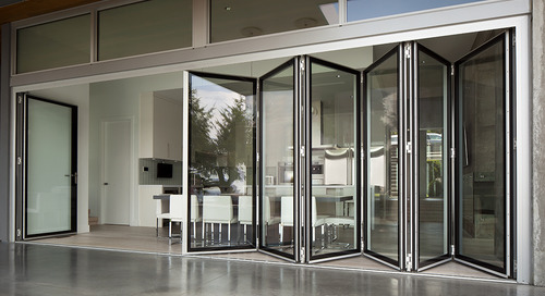 World's Only Edge-to-Edge Glass Folding Wall