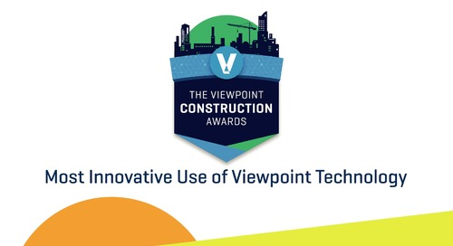2020 Viewpoint Construction Award Winners - DP Electric