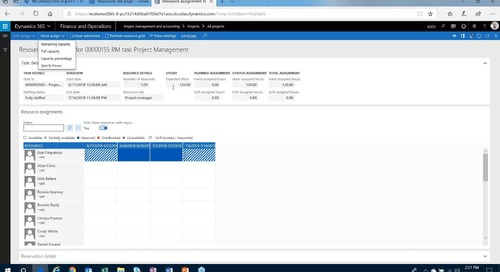 Dynamics 365 Work Breakdown Series - Part 2 - Resource Management