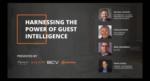 NAVIS Webinar: Harnessing the Power of Guest Intelligence