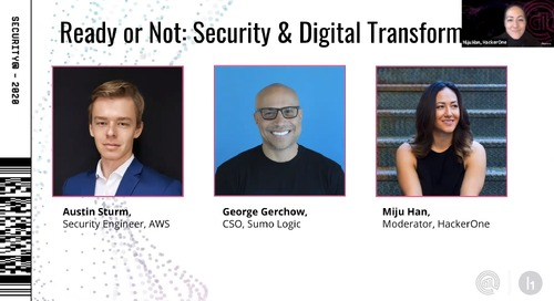 Security@ 2020: Ready or Not – Security Digital Transformation