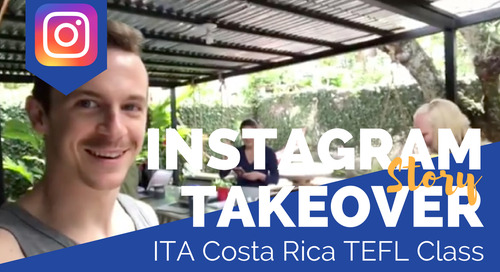 Day in the Life of our Costa Rica TEFL Class with Tyler O'Dell