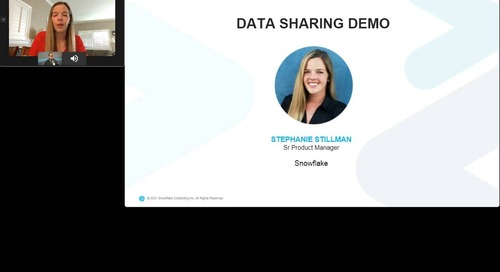Best Practices for Simplifying Your Data Sharing with Snowflake