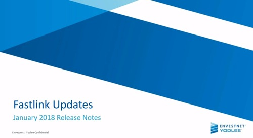 FastLink Updates: January 2018 Release Notes