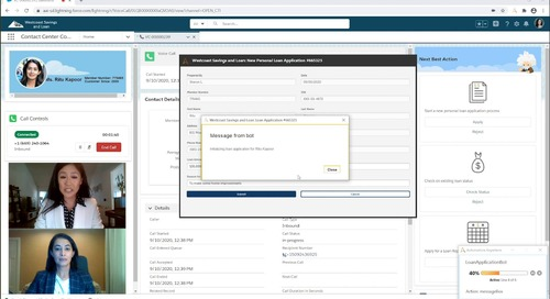 Front-office Automation with AARI for Desktop   Digital Assistant Demo