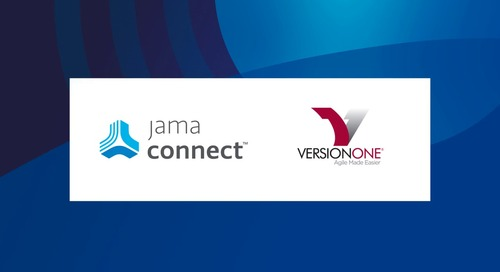Jama Connect™ + VersionOne