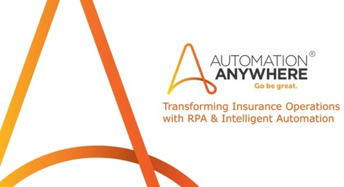 Transforming Insurance with RPA and AI