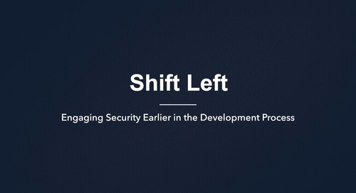 Shift Left Security for DevOps Pipeline