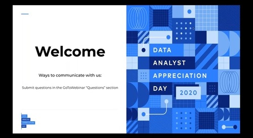 Data Analyst Appreciation Day 2020
