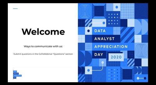 Data Analyst Appreciation Day 2020