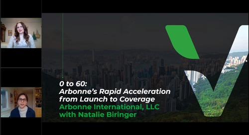 0 to 60- Arbonne's Rapid Acceleration from Launch to Coverage