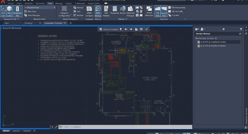New AutoCAD LT 2021 Feature: Drawing History
