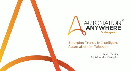 Emerging Trends in Intelligent Automation for Telecom