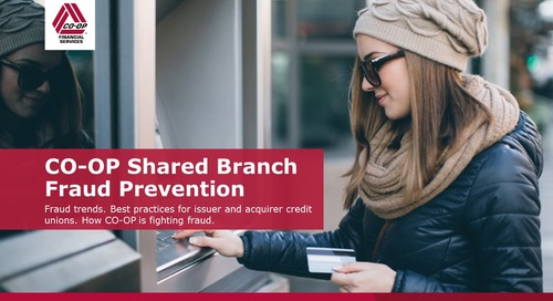 CO-OP Shared Branch Fraud Prevention