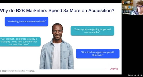 Why do B2B Marketers Spend 3X More on Acquisition?