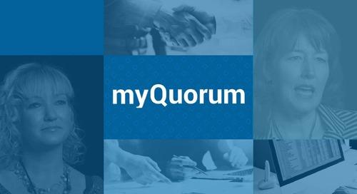 myQuorum myQuotes
