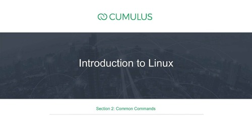 Intro to Linux – Section 2: Common Commands