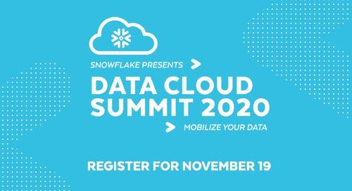 Data Cloud Summit 2020: November 19