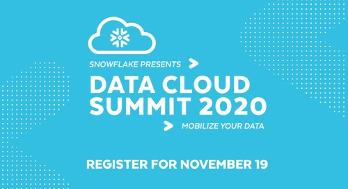 Data Cloud Summit 2020: November 19