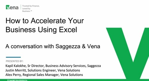 How to Accelerate Your Business Using Excel