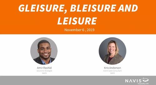 Gleisure, Bleisure, and Leisure