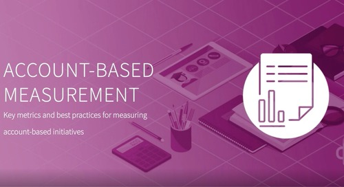 Back to Marketing School: Account Based Measurement