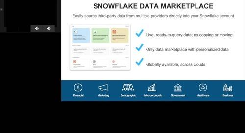 Un accès plus rapide aux insights avec Thoughtspot, Snowflake et Fivetran