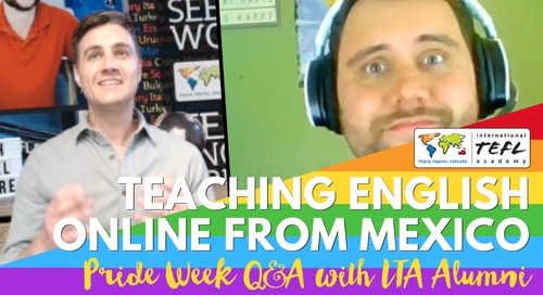 LGBTQ+ Teaching English Online from Puerto Vallarta, Mexico, with Mylo James