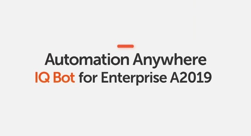 How to Create a Custom Document Type with IQ Bot in Automation Anywhere Enterprise A2019