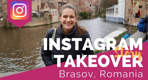Day in the Life Teaching English Online While House Sitting in Europe (Brasov, Romania) with Nicola Rae