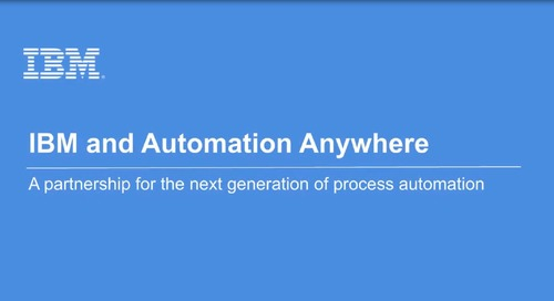IBM Partners With Automation Anywhere