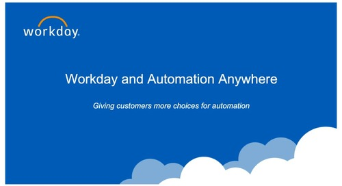 Join Dell, Workday and Automation Anywhere for an overview of intelligent automation at the core of Power of 1.