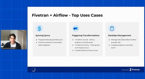Fivetran + Open Source – Open options for running your Modern Data Stack