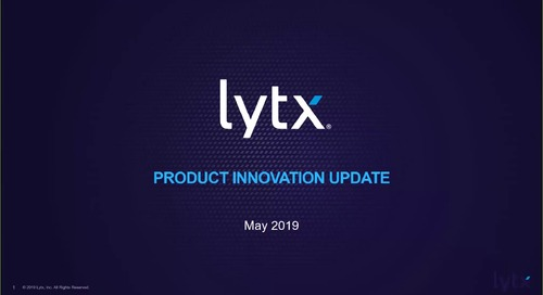 Product Innovation Update - May 2019 - Webinar