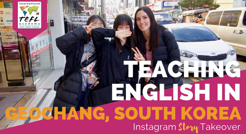 Day in the Life Teaching English in Geochang, South Korea with Ashley Little