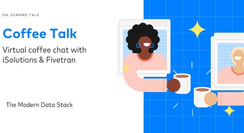 Coffee Talks with iSolutions: The Modern Data Stack