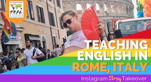 Day in the Life Teaching English in Rome, Italy with Alex Williams