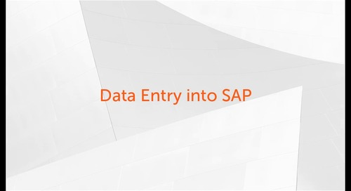 Enterprise A2019 Use Cases - Automating Invoice Data Entry into SAP