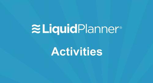 LiquidPlanner Activities