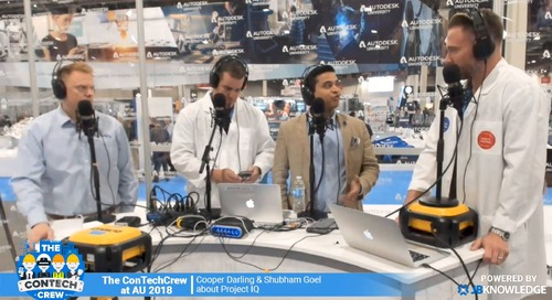 The ConTechCrew at AU 2018: Interview with Cooper Darling and Shubham Goel about Project IQ