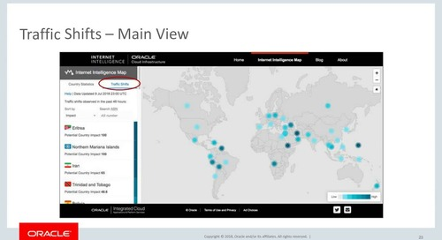 Learn to Use and Understand Oracle's Internet Intelligence Map