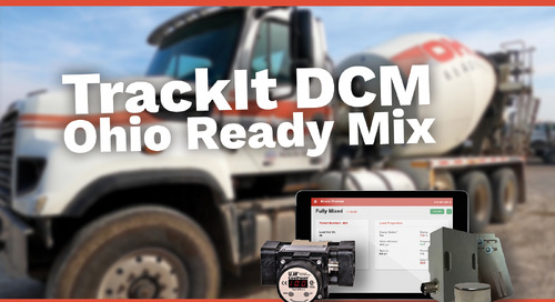 Gain More Efficiencies with TrackIt DCM | Ohio Ready Mix